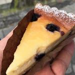 ホホエミカ - ブルーベリーベイクドチーズケーキ
