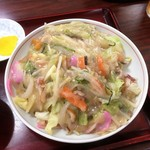 だるま食堂 - 料理写真:皿うどん:700円