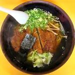 正好食堂 - 料理写真:とんかつラーメン