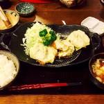 とんかつ 梨庵 - チーズヒレかつのセット