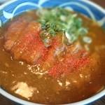 来夢 - 料理写真:カツカレーうどん♪