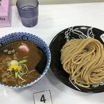 中華蕎麦 とみ田 - 濃厚つけ麵並880円
