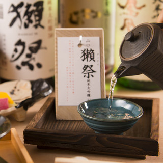 日本酒は150種類以上ご用意