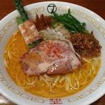 ナルトもメンマもあるけれど - [2017年5月の限定麺]TAIRYO!! EBI SIO RAMEN