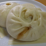 金陵 - チャーシュー味噌饅頭1個220円