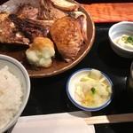 67656532 - 鮪カマ焼き定食