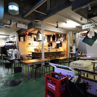 名古屋駅前柳橋中央市場内で味わう天ぷらとワイン♪