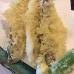 すし廻鮮 うお亭 - カマスの天ぷら