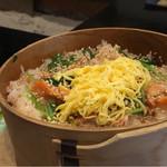 料理旅館 田事 - 鮭めっぱ