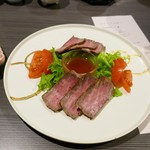 夢みさき - 料理写真:ローストビーフ
