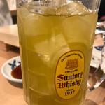 大衆すし酒場 カドハチ - 濃厚緑茶ハイ