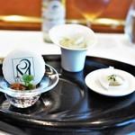 レストラン マノワ - アミューズ3種
