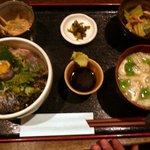 海の味 有福 - 鰆の炙りづけ丼定食