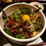 海の味 有福 - ゴマサバ丼定食のゴマサバ丼