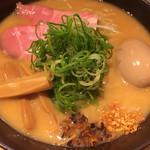 ふじ屋 NOODLE - 豚白湯味噌らーめん☆★★☆