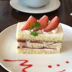 サウスコート - イチゴのショートケーキ