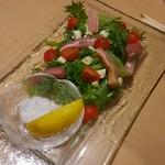 九州 熱中屋 - パンチェッタサラダ
