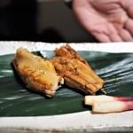 あさば - 料理写真:穴子黒米ずし
