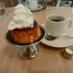 豆電COFFEE - プリン、豆電コーヒー