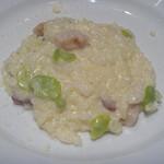 トラットリア キッコ - 空豆とマスカルポーネチーズのリゾット