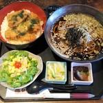 67668064 - 新潟たれかつ丼とお蕎麦1188円+そば大盛100円