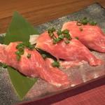 個室肉バル 29house 町田店 - 乙女牛の肉寿司