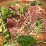 個室肉バル 29house 町田店 - 牛肉のパルメザンカルパッチョ