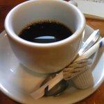 とんかつ ひやま - 食後のコーヒー