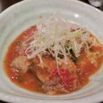 五明 ごみょ - あなぐまとトマト、香味野菜の煮込み 1380円