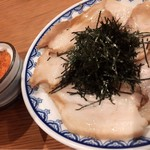 一蘭 - 焼き豚皿