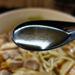 中華そば いぶき - ☆スープもクリアーな味わい!(^^)!☆