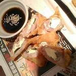 西郷酒盛 - 【2017/5】肉巻きチーズ