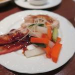 龍海飯店 - 前菜3種