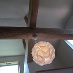 定食・パスタ かたぎりさん - 店内の天井