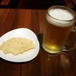 ネパリダイニング ダルバート - 生ビールとパーパル
