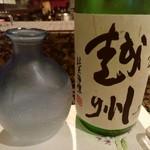 鮨 つかさ - 【2017.5.28(土)】冷酒(越州・参乃越州・1合)950円