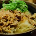 香川一福 - 肉うどん・冷・小@税込680円