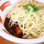 らーめん 五ノ神精肉店 - 肉汁和え麺