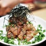 水炊き 鼓次郎 - 胡麻カンパチ