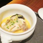 アジル - 牡蛎とスッポンの茶わん蒸し