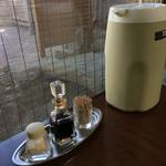 グリルオーツカ - テーブル周り