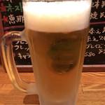 メリメロ亭 - アサヒスーパードライの生ビール