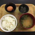 伊都畑 - 料理写真:卵かけご飯定食 400円です