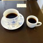 Cafe Kuromimi Lapin - プラチナと試飲のエチオピアナチュラル