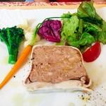 ボン・ヴィヴァン - 料理写真:三重県産豚肉のパテ