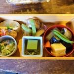 天野酒 - 料理写真:喜一さんの「水無月弁当」