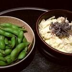 だんまや水産 - 枝豆 キャベツサラダ