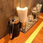 コナズ珈琲 - お好みで、コーヒー豆&シロップ