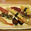 Katsumidori Sushi - 料理写真:ランチの握りセットの関脇