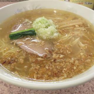 ラー麺専門店 こしがや - 料理写真:塩ネギラーメン